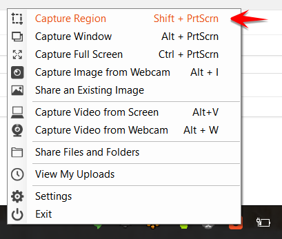 How do I capture a screenshot of my screen? – Learn TinyTake