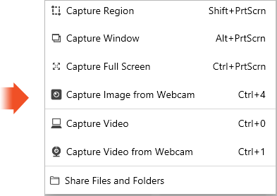 TinyTake Capture Features